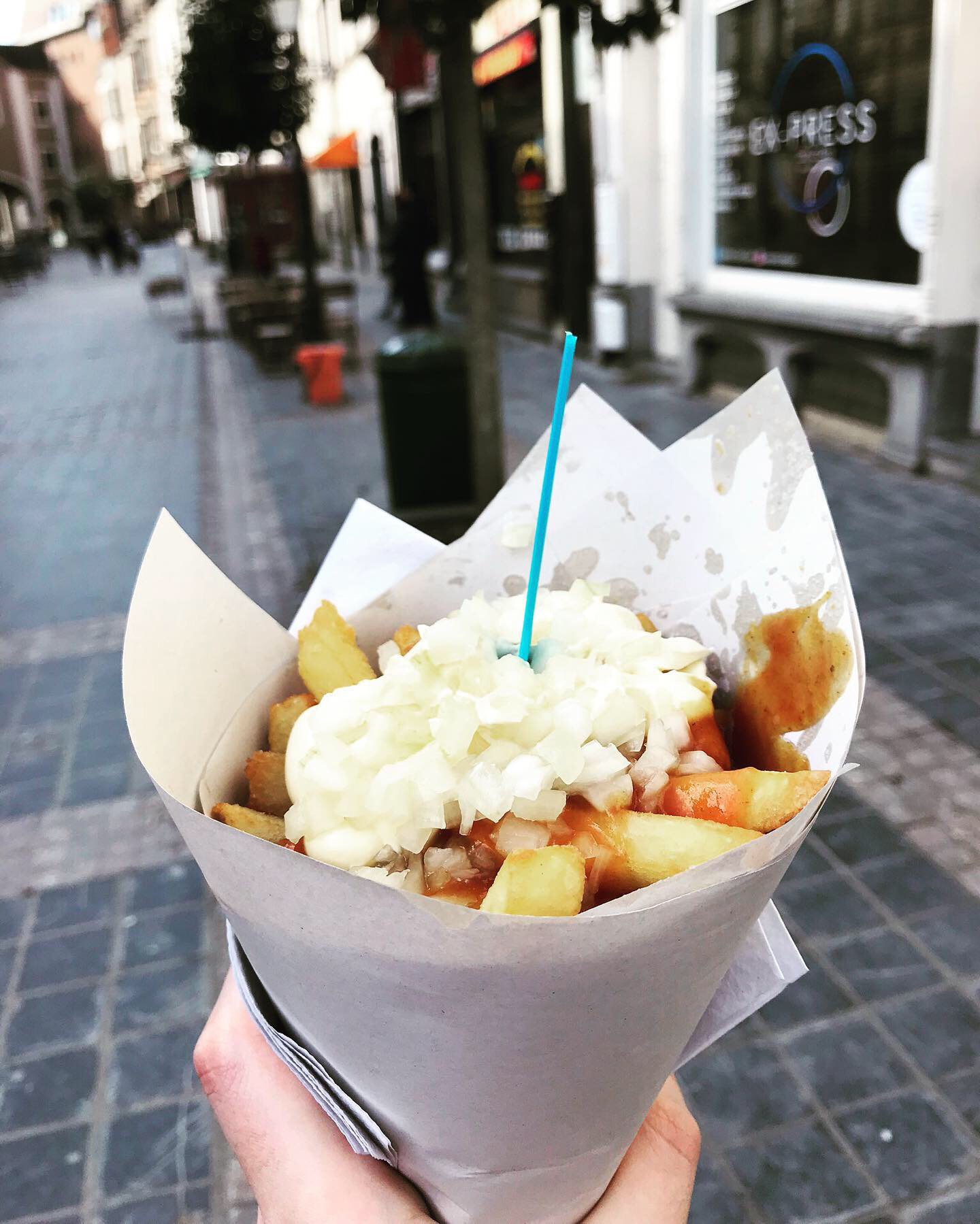 Waffle time! Hello Brussels ;)
