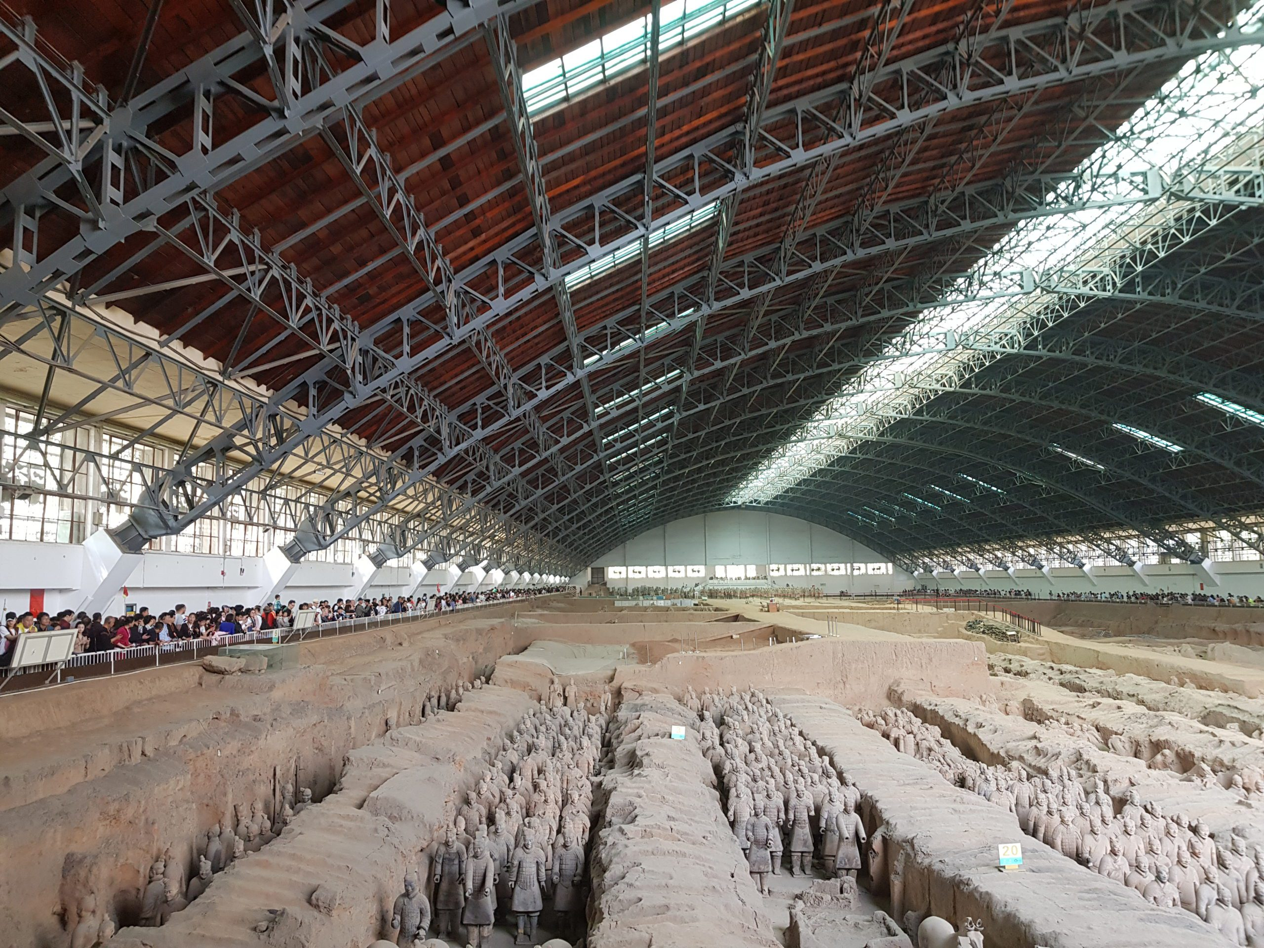 Terracotta army, one of the eight wonders of the world