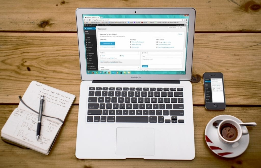 Your first steps with WordPress