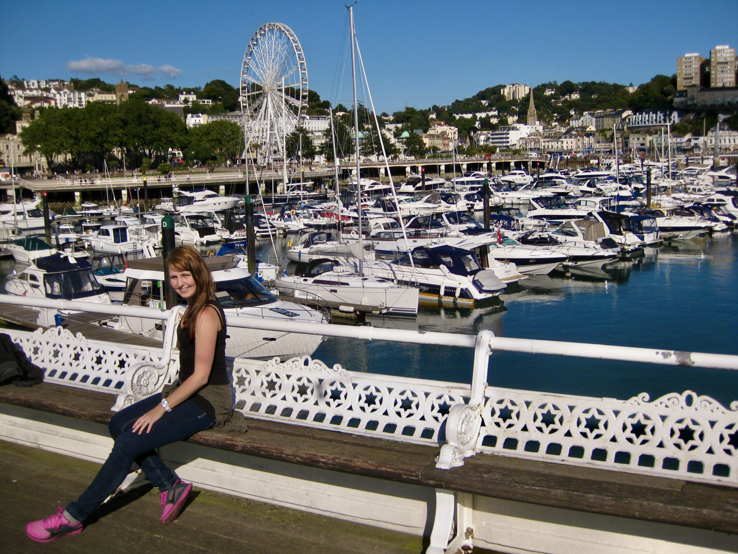 Tea and scones at the English Riviera
