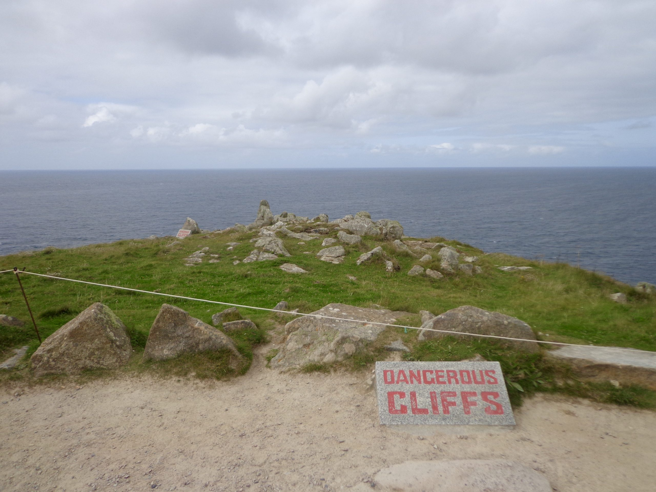 Day trip: Steep coasts at the end of England