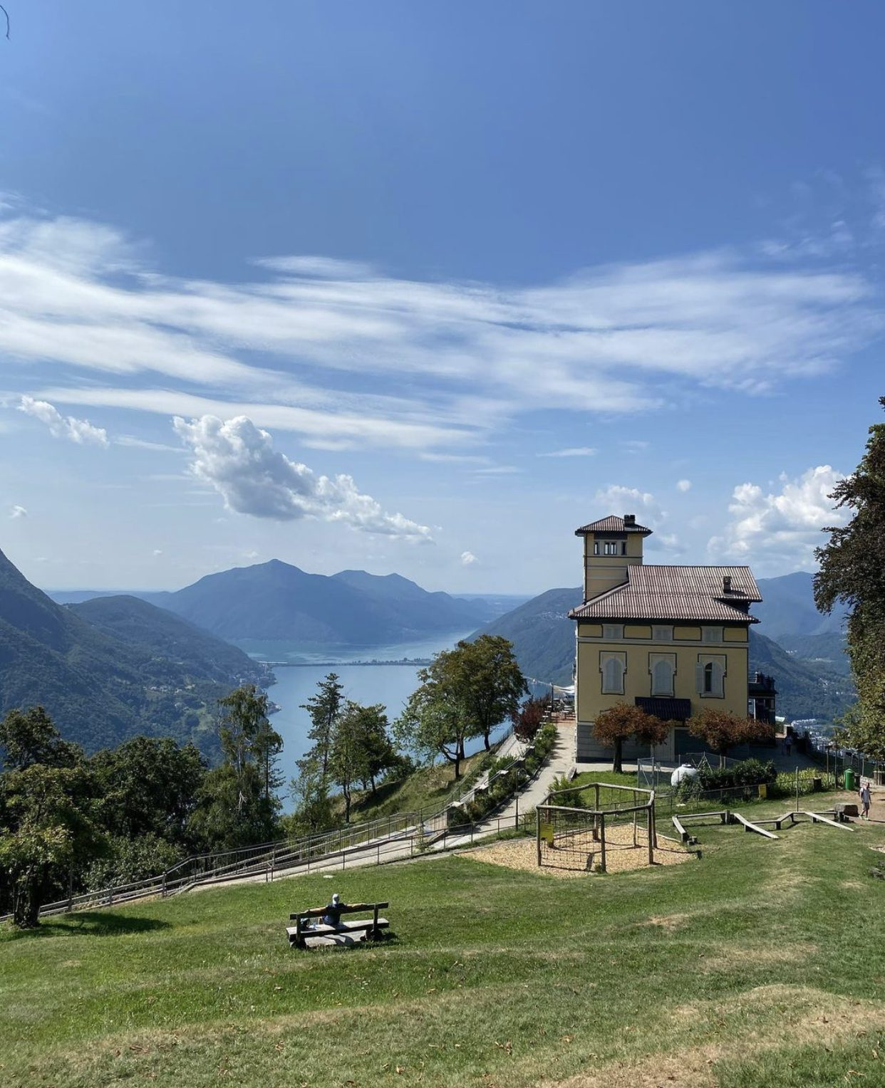 One day in Lugano