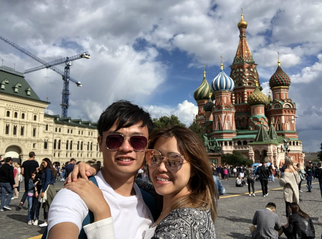 Very First Couple Trip — Russia