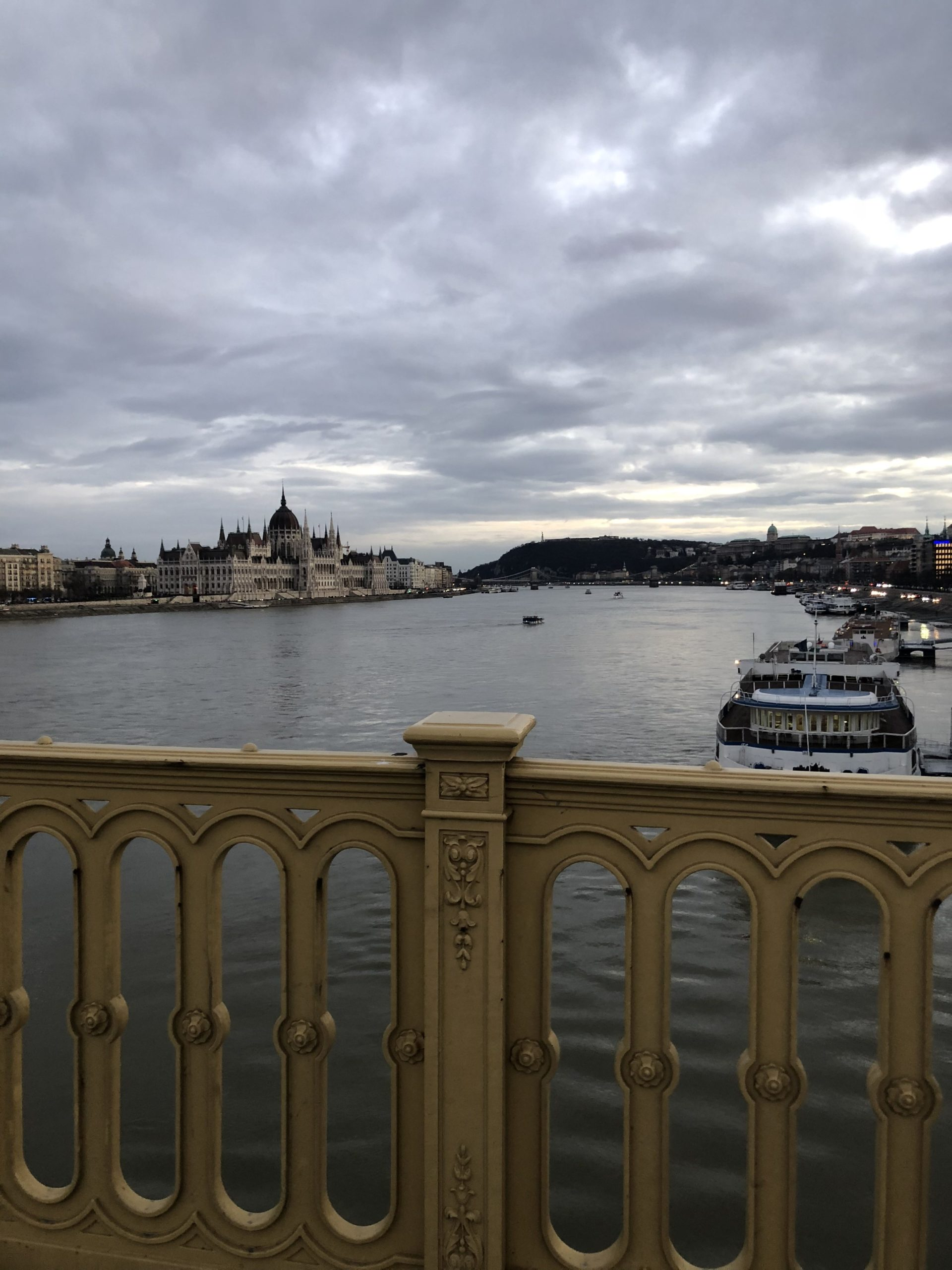 Winter holidays in Budapest