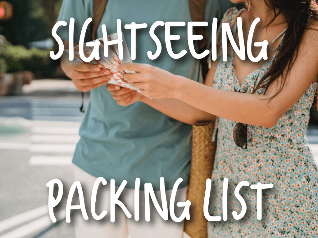 Sightseeing-Packing-List