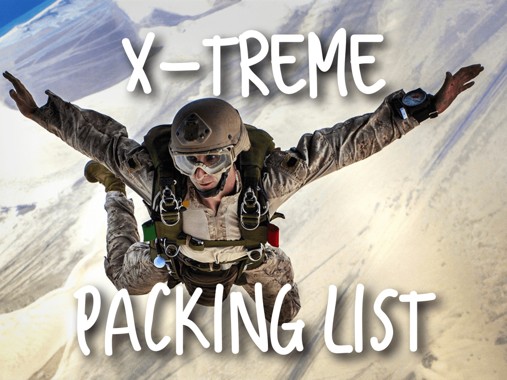 Xtreme-Packing-List