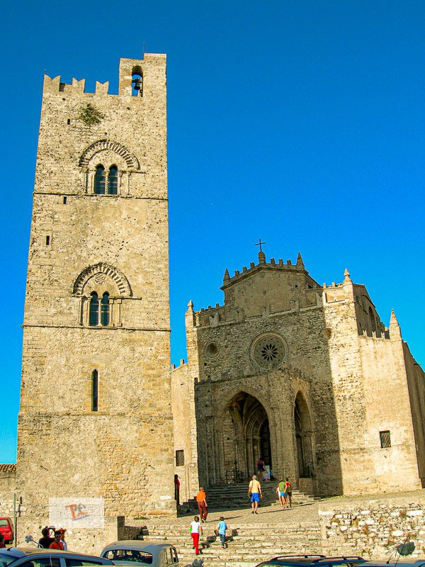 Erice, Mother Church and bell tower