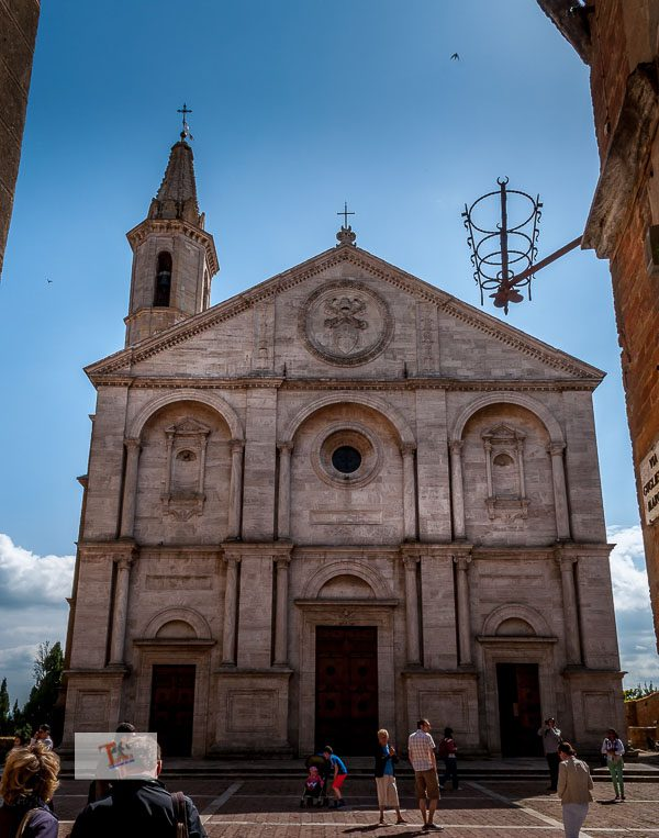 Pienza: the Cathedral